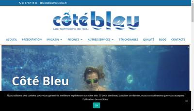 Site internet de Cote Bleu