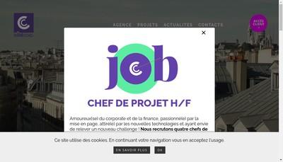 Site internet de Cote Corp