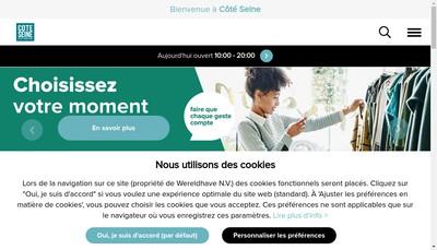 Site internet de Pharmacie Cote Seine