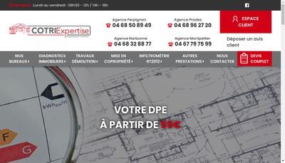Site internet de SARL Cotri