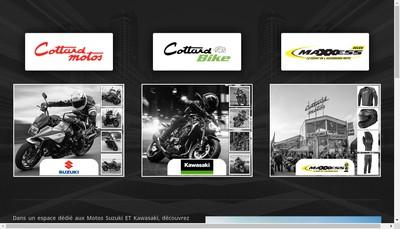 Site internet de Cottard Bike