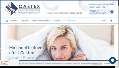 Site internet de Manufacture Alphonse Castex