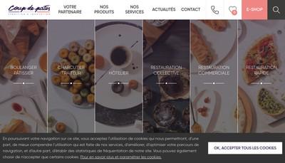 Site internet de Coup de Pates