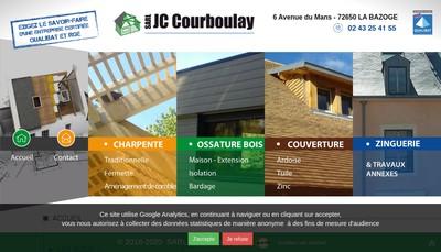 Site internet de J-C Courboulay SARL