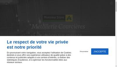 Site internet de Courcieres SARL