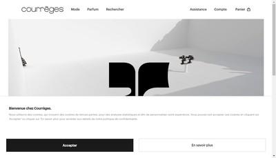 Site internet de Groupe Courreges