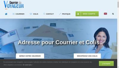 Site internet de Courrier du Voyageur French Office