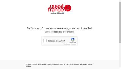 Site internet de Publications Courrier de l'Ouest