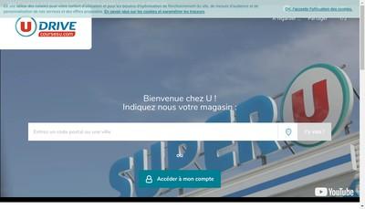 Site internet de Super U