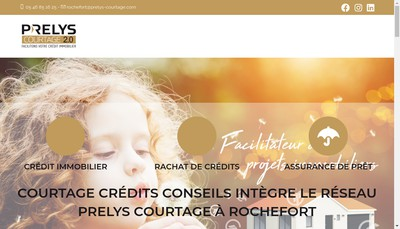 Site internet de Courtage Credits Conseils