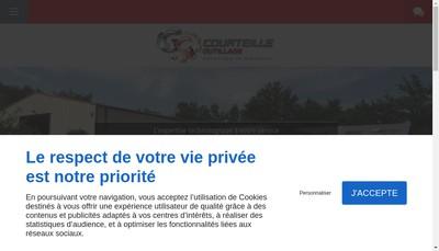 Site internet de Societe Courteille Outillage