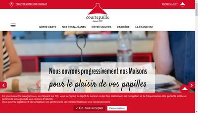 Site internet de Horizon Courtepaille