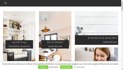 Site internet de Courtimmo Bretagne