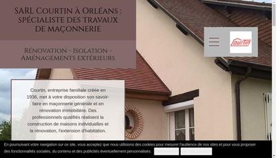 Site internet de Courtin