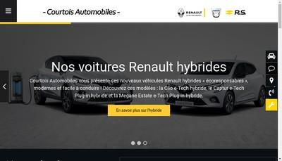 Site internet de Concessionnaire Renault