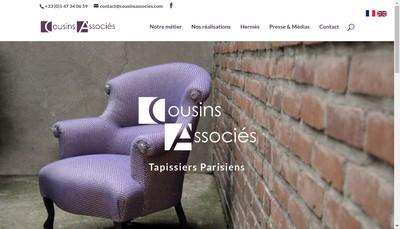 Site internet de Sosegh Cousins Associes