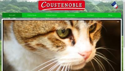 Site internet de Coustenoble