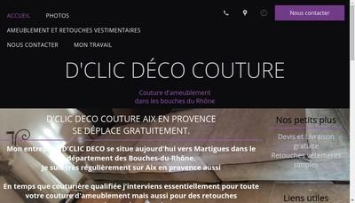 Site internet de Stephanie Descours