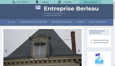 Site internet de Entreprise Berleau