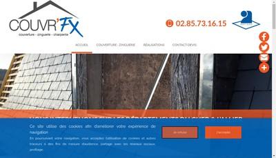 Site internet de Couvr'Fx