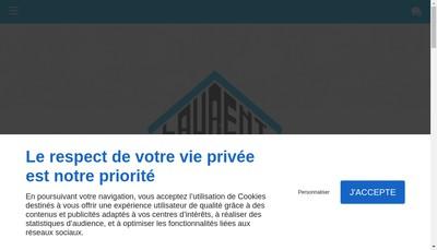 Site internet de EURL Lanier