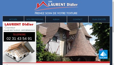 Site internet de SARL Laurent