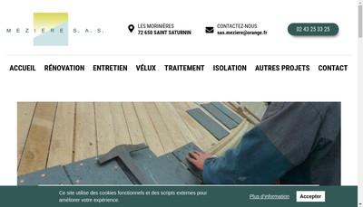 Site internet de Meziere SAS