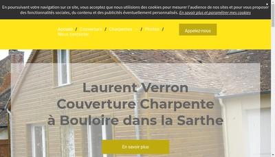 Site internet de Verron Laurent