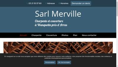 Site internet de Merville