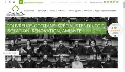 Site internet de Les Couvreurs Occitans