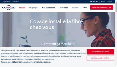 Site internet de Clermont Communaute Networks
