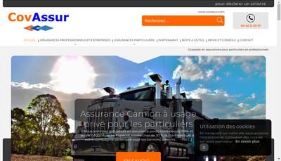 Site internet de Covassur