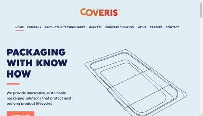 Site internet de Coveris Flexibles Holding France