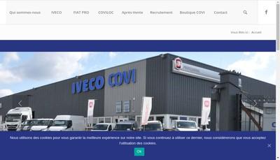 Site internet de Covi