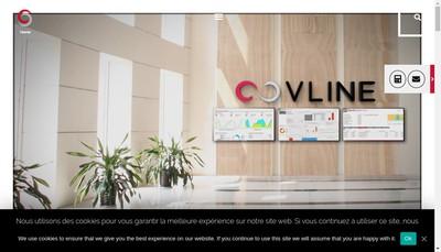 Site internet de Covline