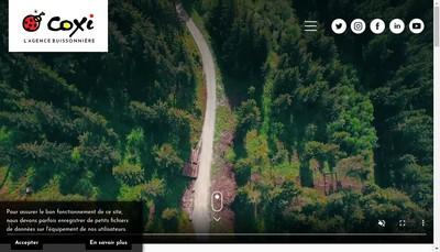Site internet de Coxi