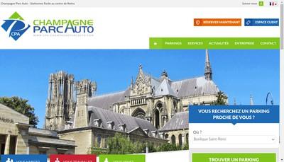 Site internet de Parc Auto Cathedrale