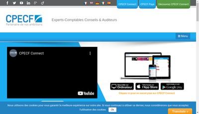 Site internet de Compagnie Phoceenne d'Expertise Comptable et Fiscale