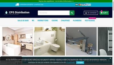 Site internet de Cps Distribution