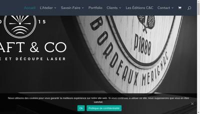 Site internet de Craft & Co
