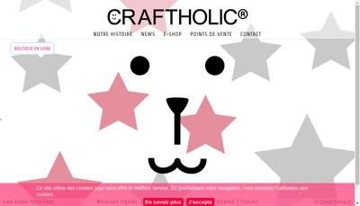 Site internet de Craftholic