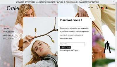 Site internet de Craie