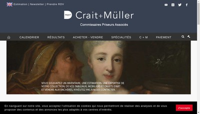 Site internet de Crait-Muller