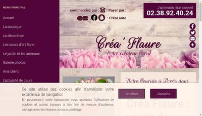 Site internet de Crea'Flaure