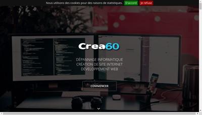 Site internet de Crea60