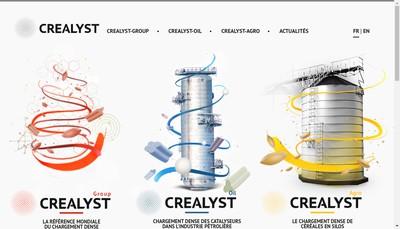 Site internet de Crealyst-Oil