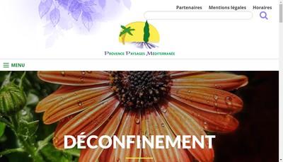 Site internet de Provence Paysage