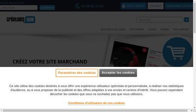 Site internet de Creations-Web
