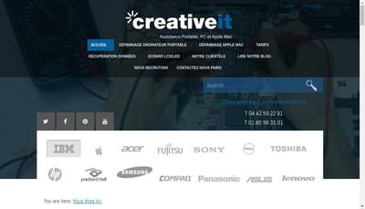 Site internet de Creative It France