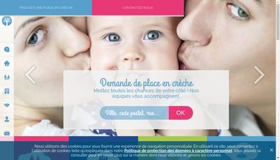 Site internet de Creche Bachelard